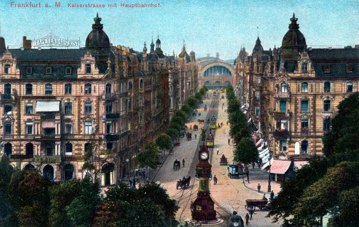 Postkarte-Frankfurt-Hauptbahnhof